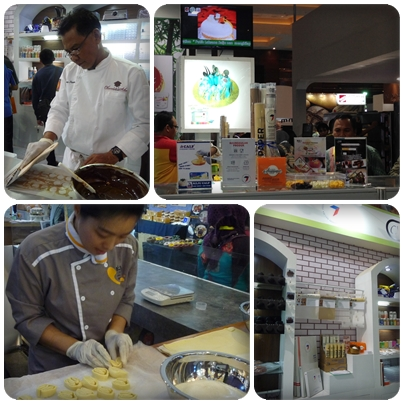 Seven Kitchen Baking Papers di SIAL Interfood 2016, pameran kuliner rutin demo masak
