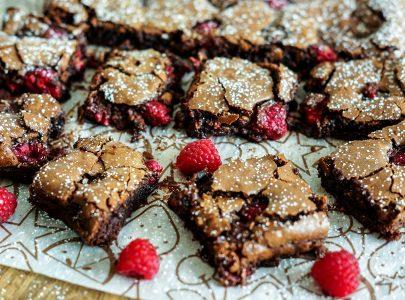 Raspberry Brownies Recipe