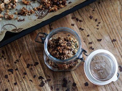 Healthy Living With Granola