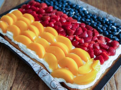 Cake Creations Using Fruits