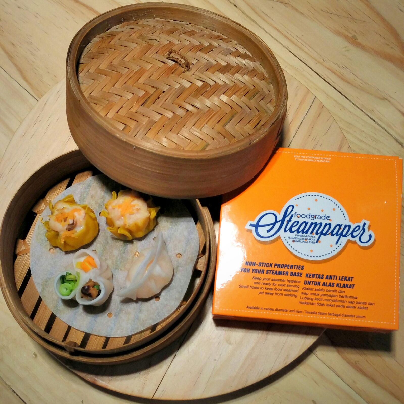 Dimsum That Reverse Tongue Seven Kitchen Papers Steam Snack