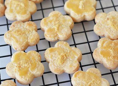 Flower Cheese Cookies