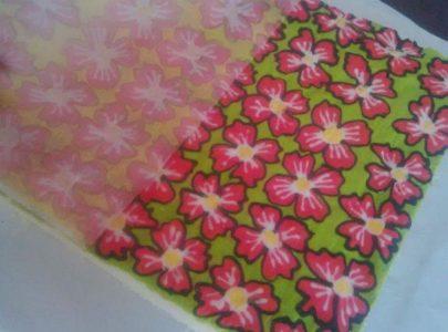 Tips on Batik Roll Using Baking Paper Seven